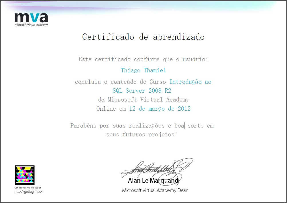 Microsoft Virtual Academy Certificate Related Keywords